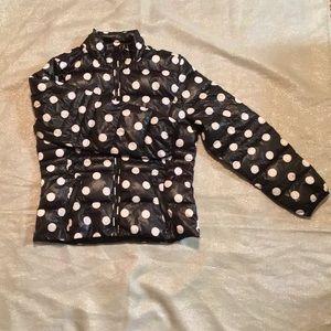 Polka Dot Fluffy Jacket